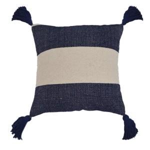 Navy & White Cushion