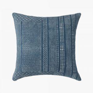 Blue Square Cushion