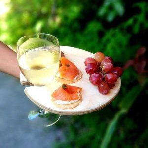 Wine Glass Holder Tray
