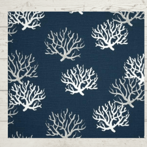 Blue and White Coral