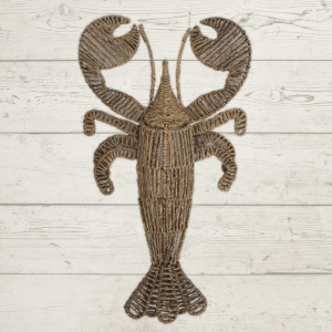 Woven Lobster Wall Hanging