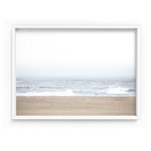 Sandy Beach and Ocean Waves