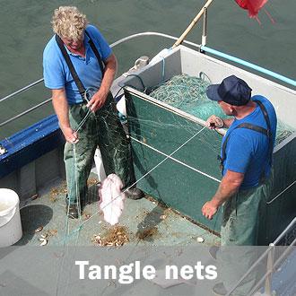 Fishing tangle nets