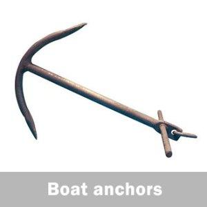 boat anchors