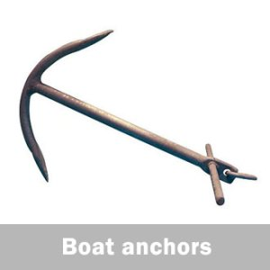boat anchors