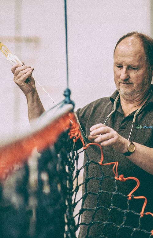 Fishing net manufacturing Bridport