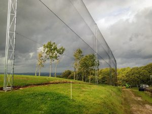 golf course net fencing