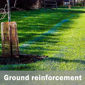 ground grass reinforcement mesh