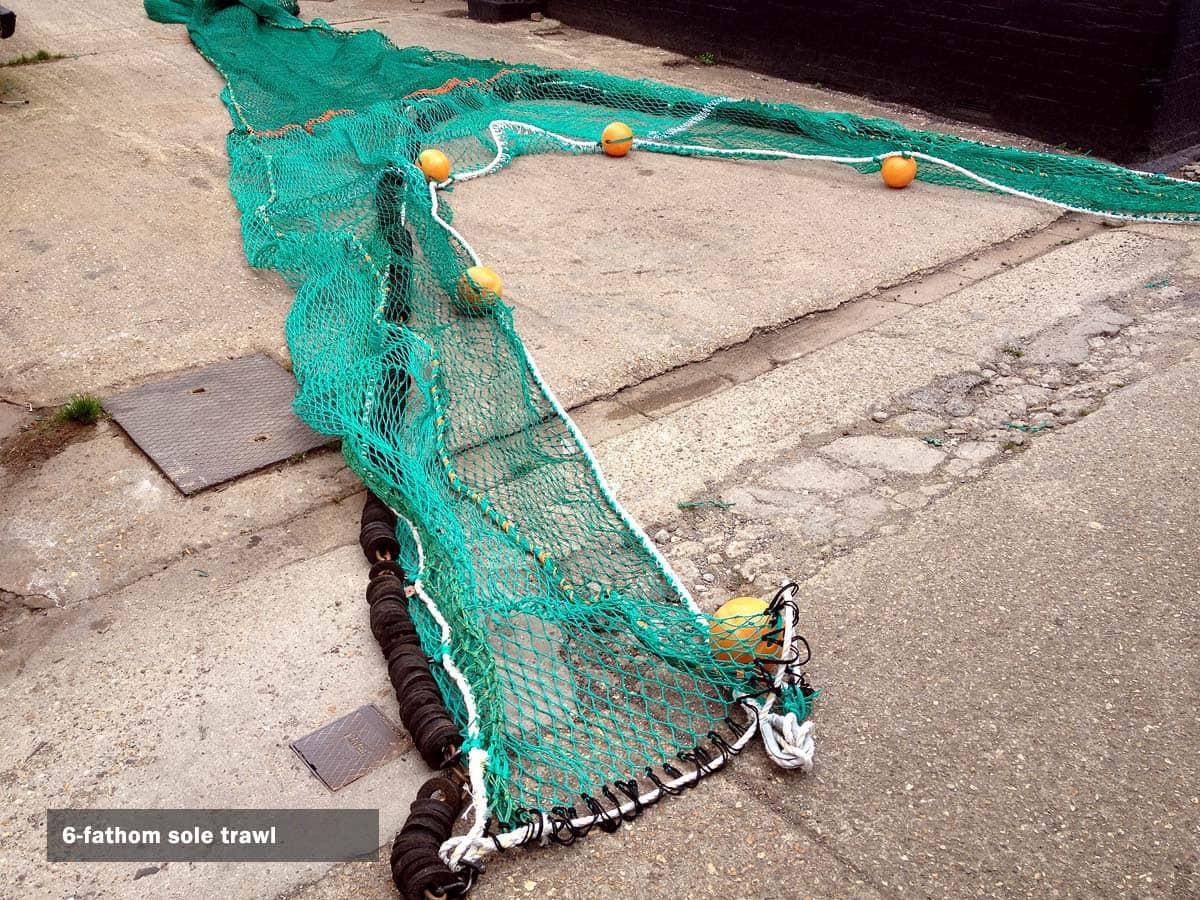 6-fathom trawl net