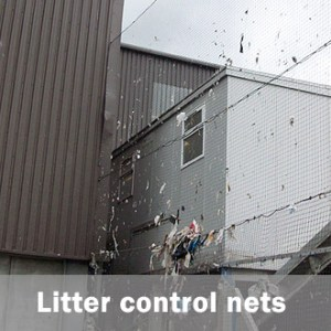 litter control net