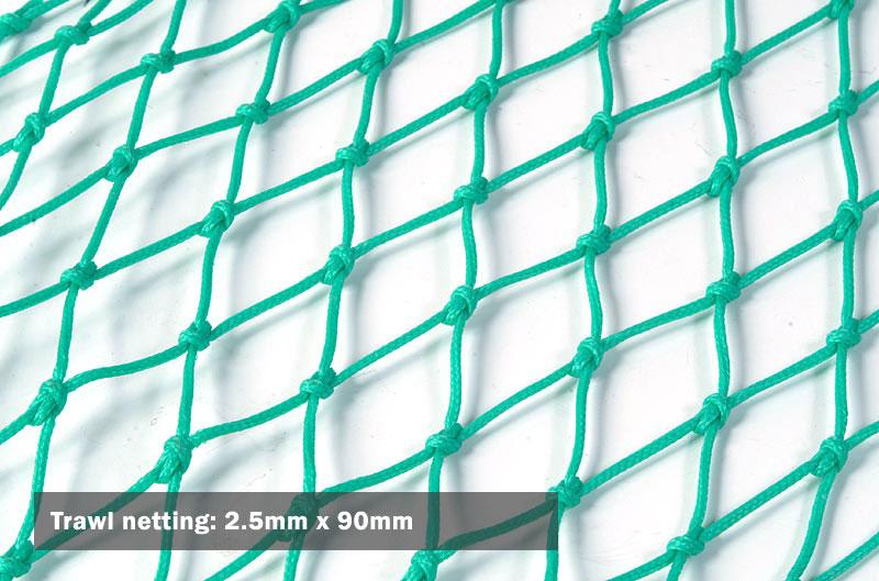 Trawls & trawl netting - Coastal Nets Limited