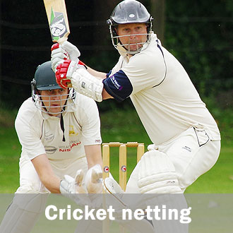 cricket netting supplier installer
