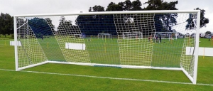 International style football goal nets