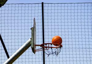 Sports ground ball stop netting