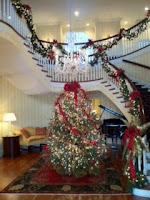 Christmas tree at DeBordieu Clubhouse 2011