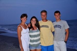 The Wilsons! Sherri, Brianna, Gary and Colman