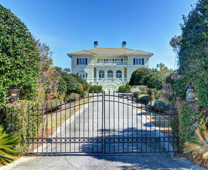 1277 DeBordieu Blvd. Ocean Front Estate with private gate.