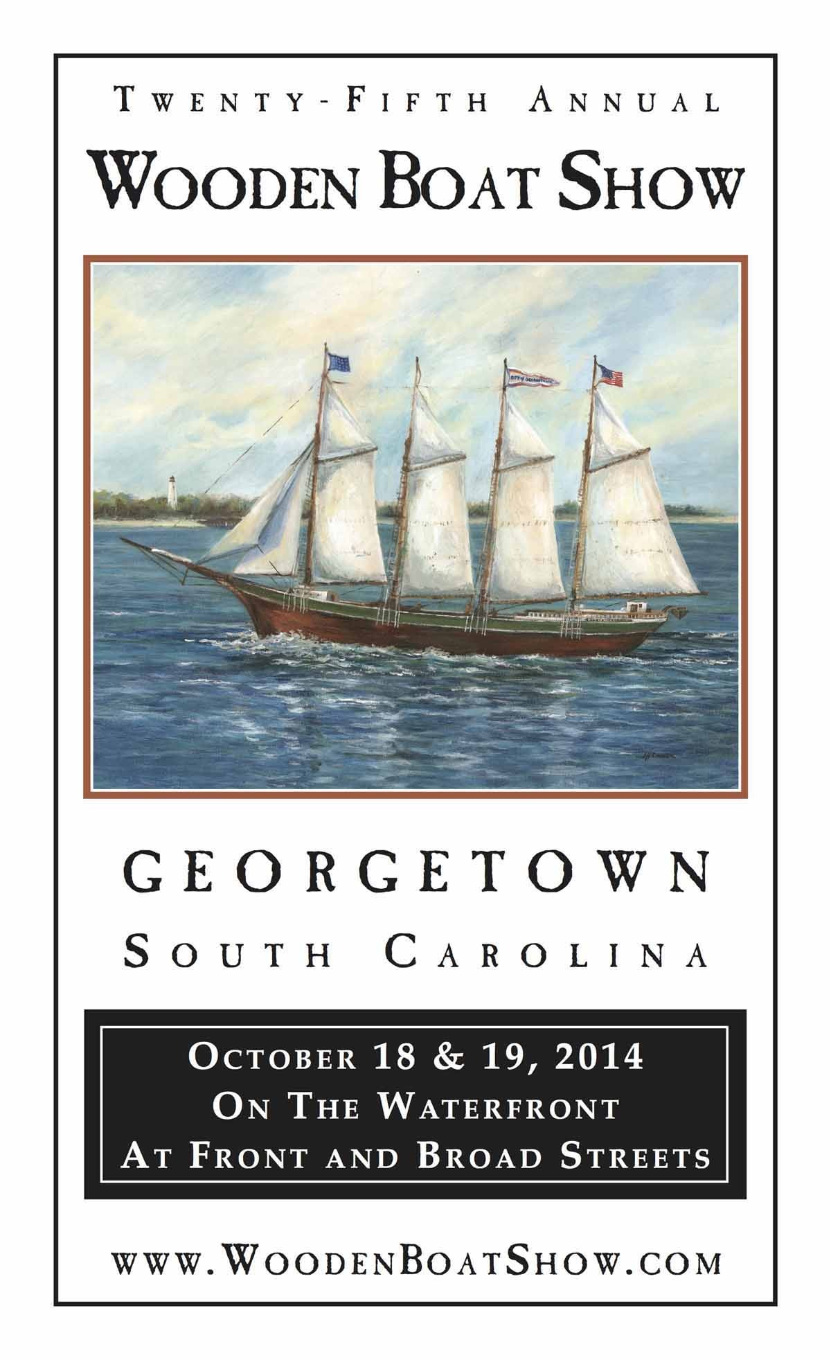 Georgetown 2014 Wooden Boat Show October 18 – 19