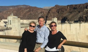 Troi Geoff and Susan at Hoover Dam