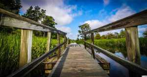 Ricefields dock, Pawleys Island, SC