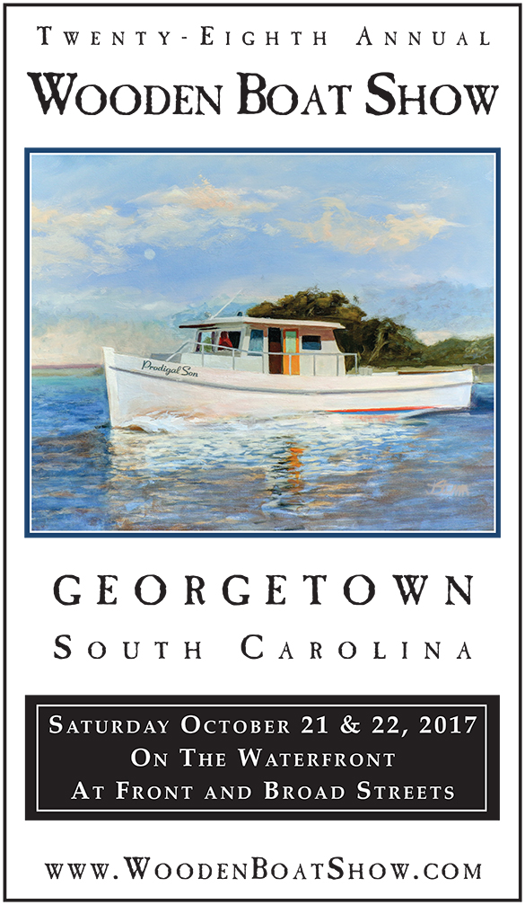 Wooden Boat Show October 21-22, Georgetown, SC
