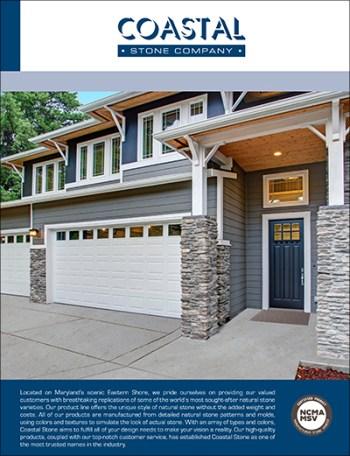 Coastal Stone Company Brochure