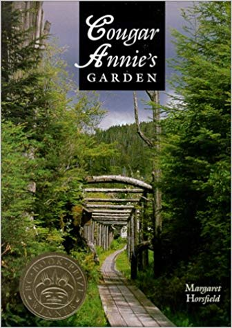 Books for boaters, cougar Annie's garden