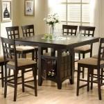 Clanton 9 Piece Square Dining Set Cappuccino Coaster Fine Furniture