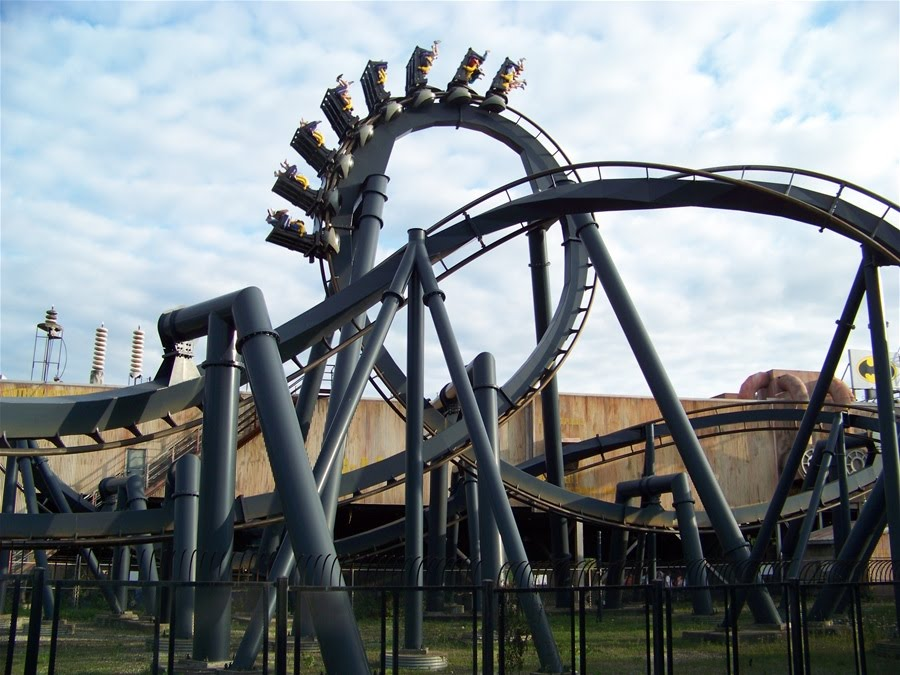 Batman: The Ride in New Jersey.