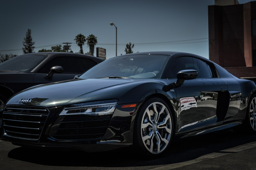 Audi R8 After Window Tint Applied