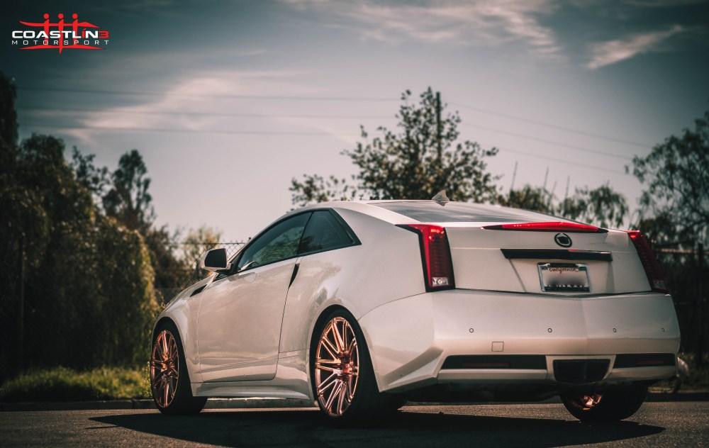 Cadillac CTS w/ XO Luxury Wheels in Custom Rose Gold Finish
