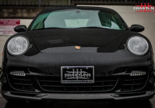 Porsche 911 w/ Carbon Fiber Front Lip
