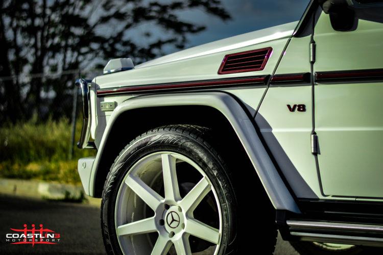 Mercedes Benz G Wagen w/ Paint Matched Wheels