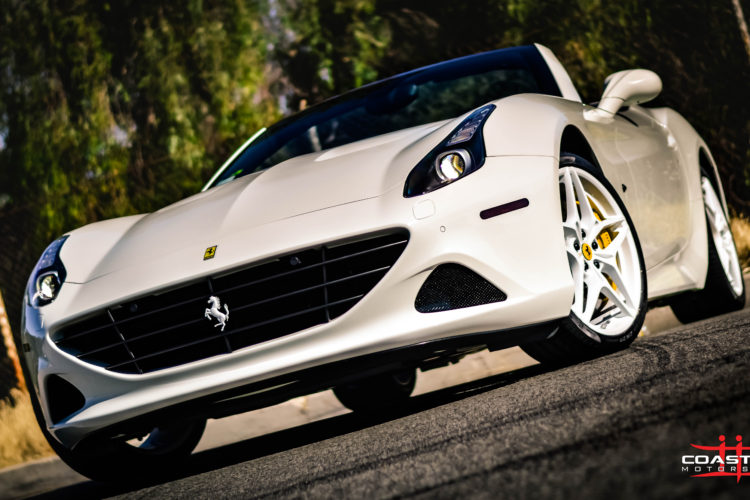 Ferrari California w/ Paint Matched Wheels
