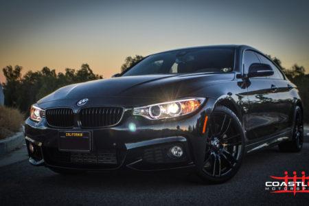 BMW 5 Series w/ Stage 5 Coastline Blackout