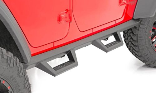 Jeep JL Side Steps Installed