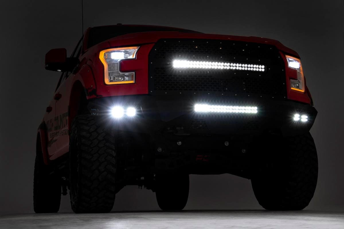 Rough Country F150 LED Front Bumper