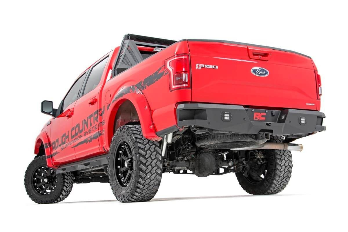 Rough Country F150 LED Rear Bumper Full Truck