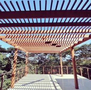 Zimbali Pergola structure