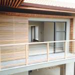 Image of timber balustrades done in zimbali recently