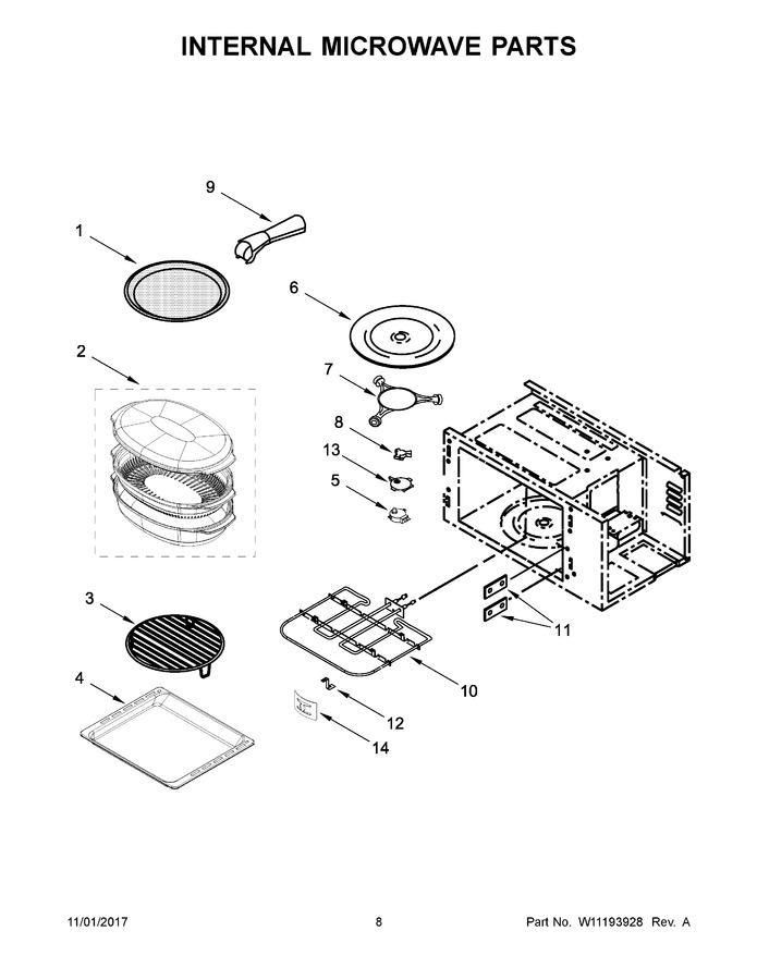 whirlpool koce500ess06 parts list