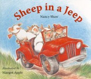 sheepinajeep
