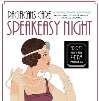 Pacificans Care Speakeasy Night Fundraiser 2016 ~ Save the Date!!