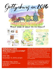 Art Exhibit - Gettysburg in 2016: What does it mean to us today? @ Half Moon Bay Library   Half Moon Bay   California   United States