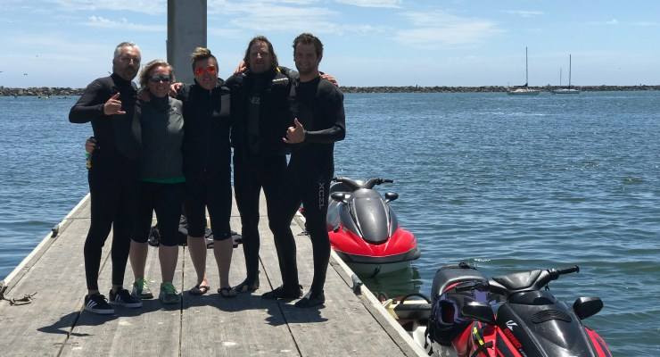 Finding Richard Moss by Jet Ski and Underwater Robot