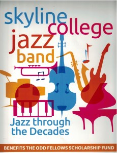 Skyline College Jazz Band at Odd Fellows Hall @ Odd Fellows Hall | Half Moon Bay | California | United States