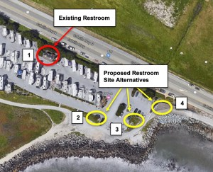What Do You Think of the Plans for a New Bathroom at The Jetty (Surfers' Beach)?