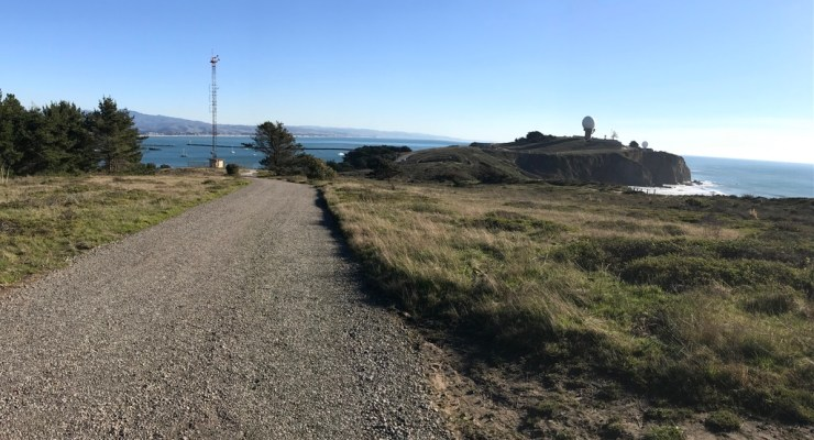 Mavericks Bluffs Re-Grading ~ Great for Strollers, Young Bikers and Old Knees