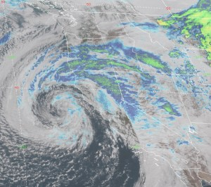 Spectacular Goes17 Weather Satellite for West Coast ~ Great Detail