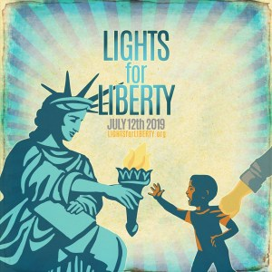 Lights for Liberty Rally and Vigil this Friday at Mac Dutra Plaza @ Mac Dutra Plaza | Half Moon Bay | California | United States